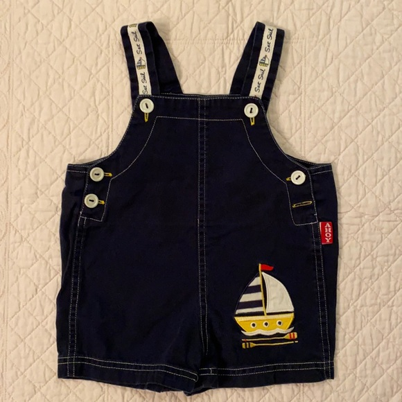 {VTG} Ahoy Set Sail Shortalls